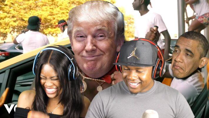 If Trump Was A New York Drill Rapper! (like Pop Smoke, CJ,