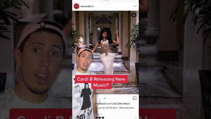 Is Cardi B Releasing New Music!?