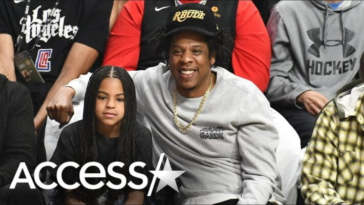 Jay Z & Blue Ivy Have Sweet Daddy-Daughter Date Night at
