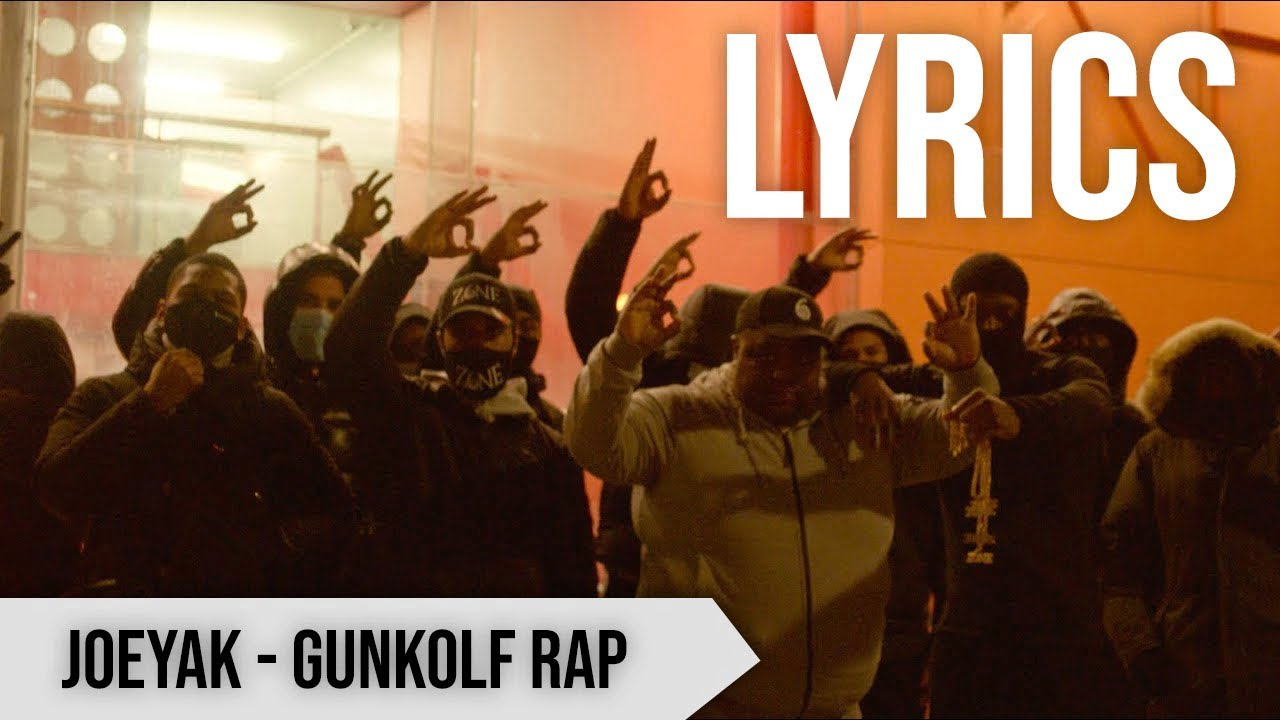 JoeyAK - Gunkolf Rap [LYRIC VIDEO]