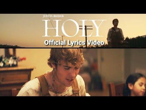 Justin Bieber | Holy | Lyrics video |Feat. Chance The Rapper