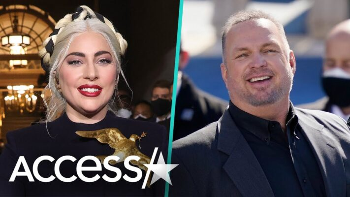 Lady Gaga's Glam Team 'Saved' Garth Brooks At Biden's