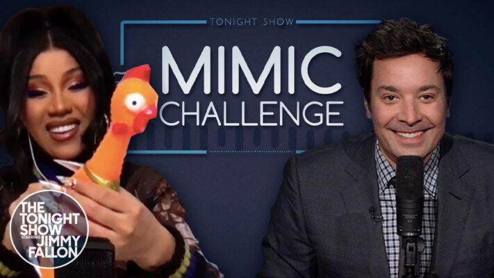 Mimic Challenge with Cardi B