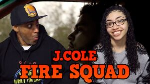 My dad reacts to J. Cole – Fire Squad (Official Music Video)