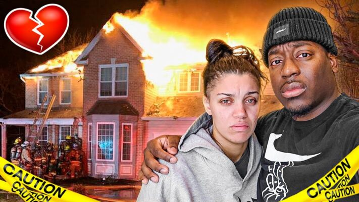 PRAY FOR THE PRINCE FAMILY HOUSE **FIRE FIGHTERS PULLED UP**