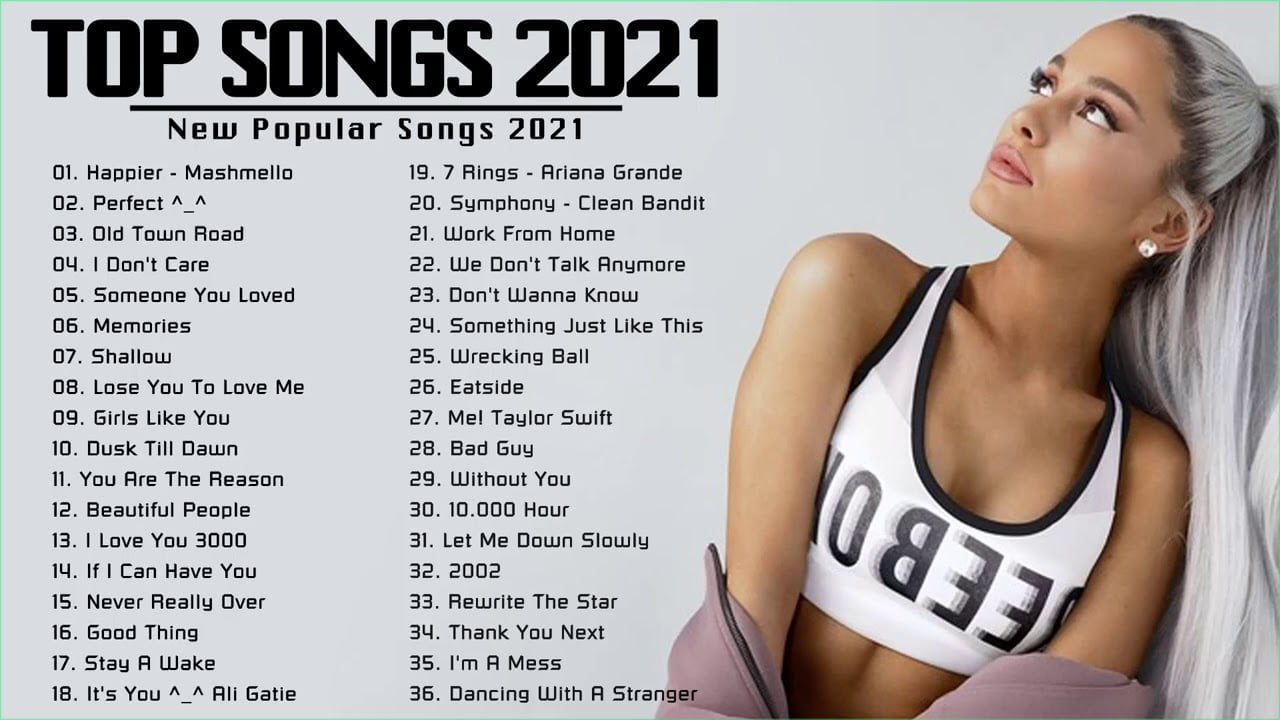 Pop  Songs 2021(Latest English Songs 2021) Best Music