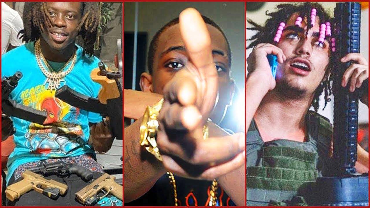 RAPPERS THAT CAUGHT A GUN CHARGE (Bobby Shmurda, 9lokkNine,