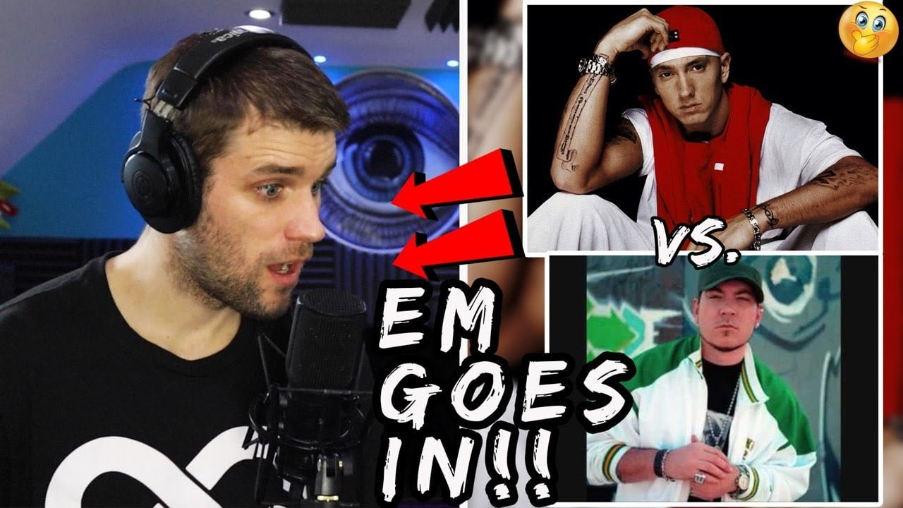 Rapper Reacts to EMINEM VS EVERLAST!!   LIVE REACTION! (BEST