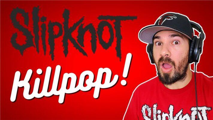 Rapper reacts to SLIPKNOT - Killpop (Lyrics) REACTION!!  