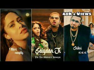 Saiyaan Ji FullScreen WhatsApp Status Rap lyrics  _ Yo Yo