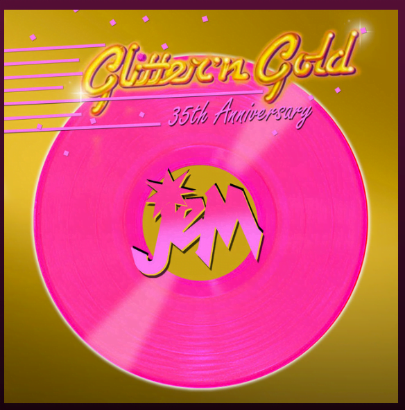 "Jem's theme ""Only the Beginning"" It's Showtime! – from the album ""Glitter 'n Gold: Jem – 35th Anniversary"" by Starlight Girlz"