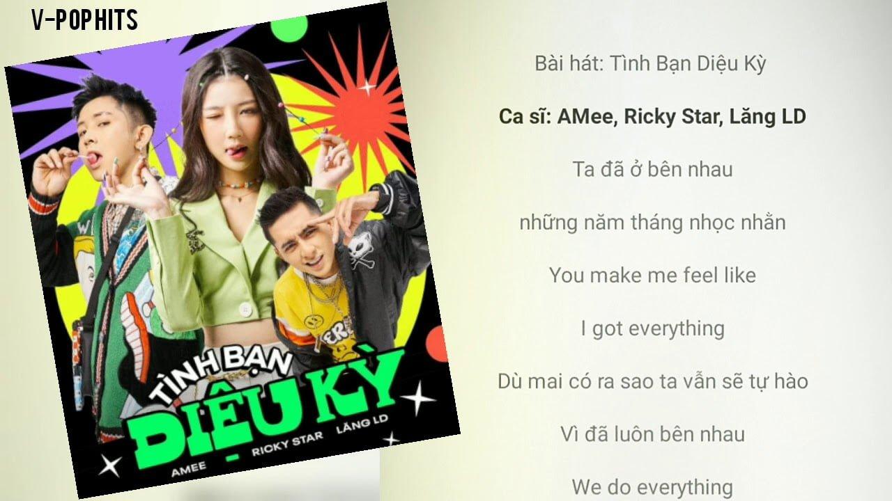 TÌNH BẠN DIỆU KỲ - Ricky Star x Lăng LD x Amee | VIDEO