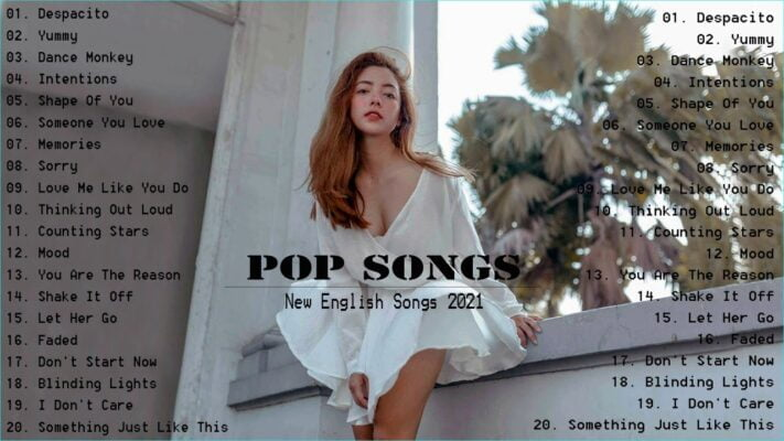 TOP 20 Popular Songs 2021  Best Hits Music 2021 on Spotify