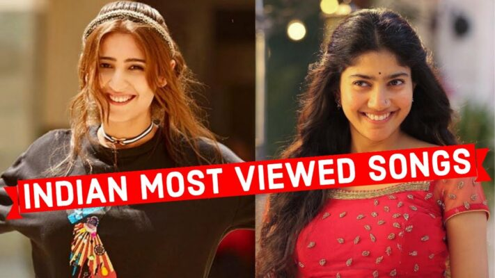 Top 50 Most Viewed Indian Songs on Youtube of All Time |