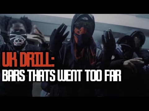 UK DRILL:LYRICS THAT WENT TOO FAR