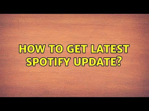 Ubuntu: How to get latest spotify update?