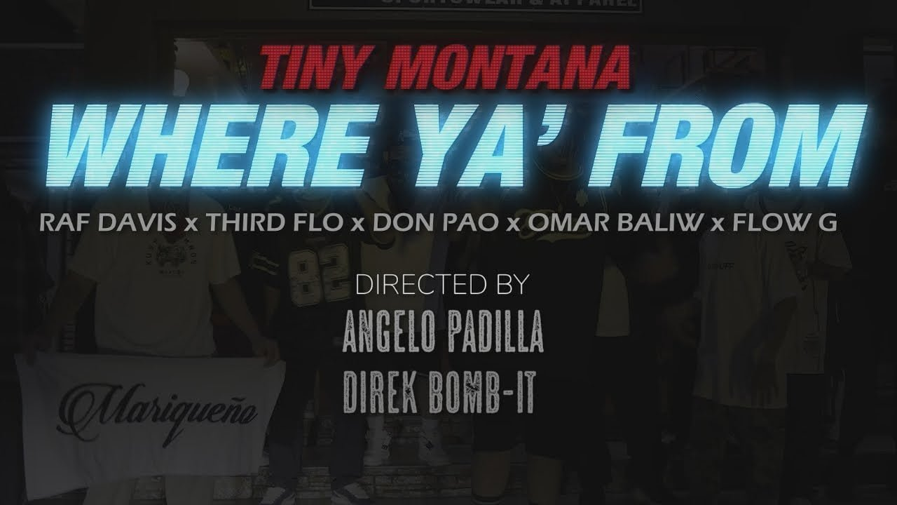 Where Ya From (Official Music Video) - Tiny Montana ft. Raf