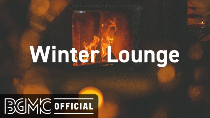 Winter Lounge: Winter Jazz Piano with Fireplace Sounds -