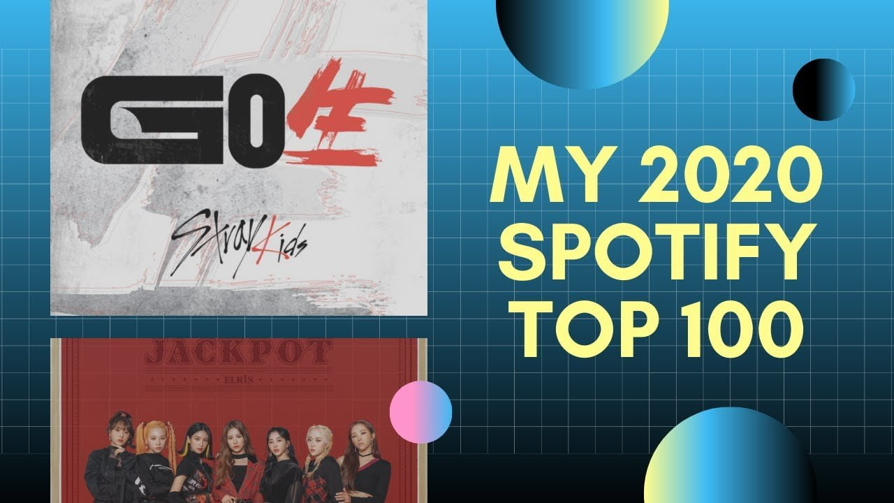 kpop songs that got me through 2020: Spotify Top 100