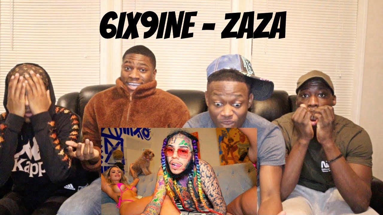"""6IX9INE"" ZAZA REACTION VIDEO"