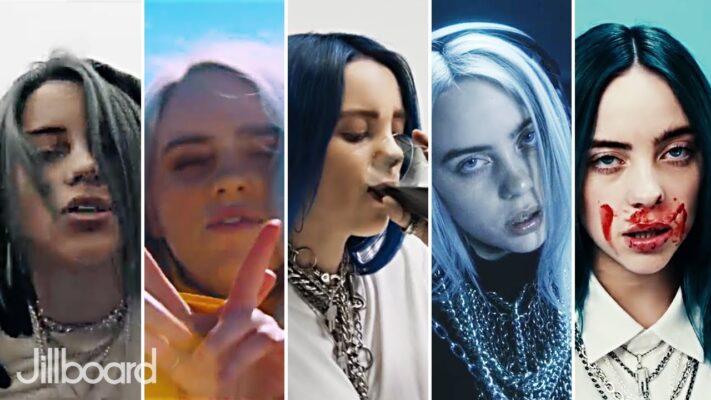 Billie Eilish - Most Viewed Music Videos (July 2020)