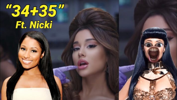 If Nicki Minaj was on the 34+35 remix..