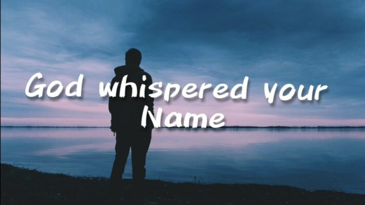 Keith Urban - God whispered your name ( Lyric Video )