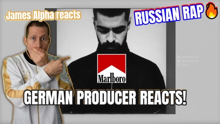 RUSSIAN RAP MUSIC REACTION I  GERMAN PRODUCER reacts to