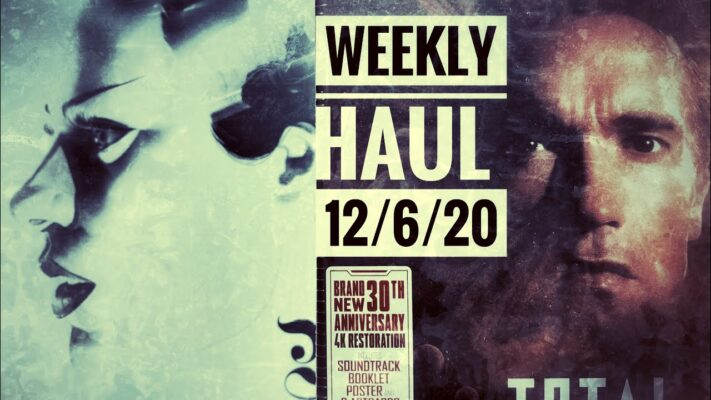Weekly Haul - 12/6/10 - Waxwork Records, Total Recall,